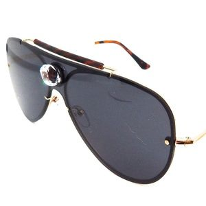 PANTHER POWER TIGER EYE AVIATOR GLASSES NEW